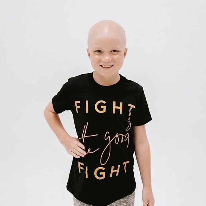 This Girl is a Fighter!