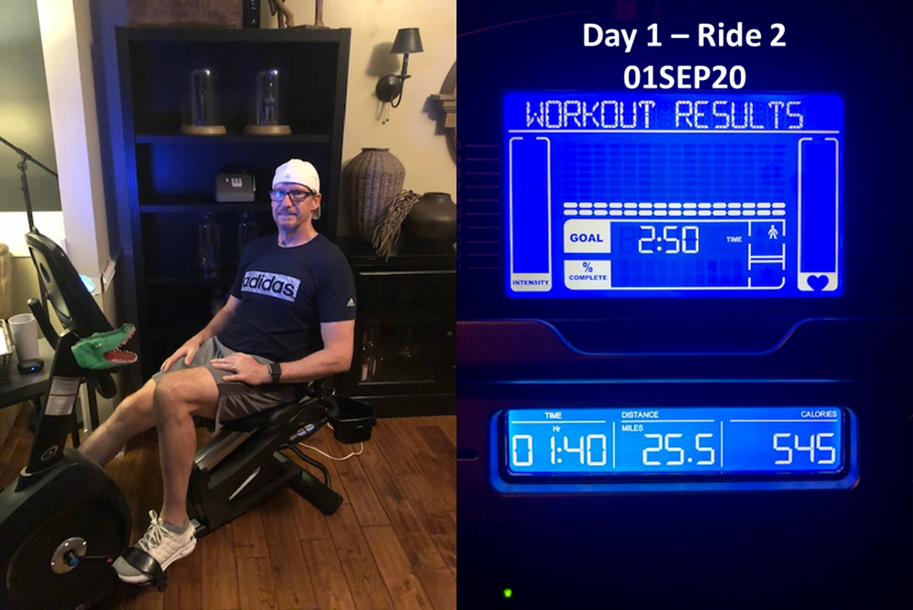 Day 1 - Ride 2