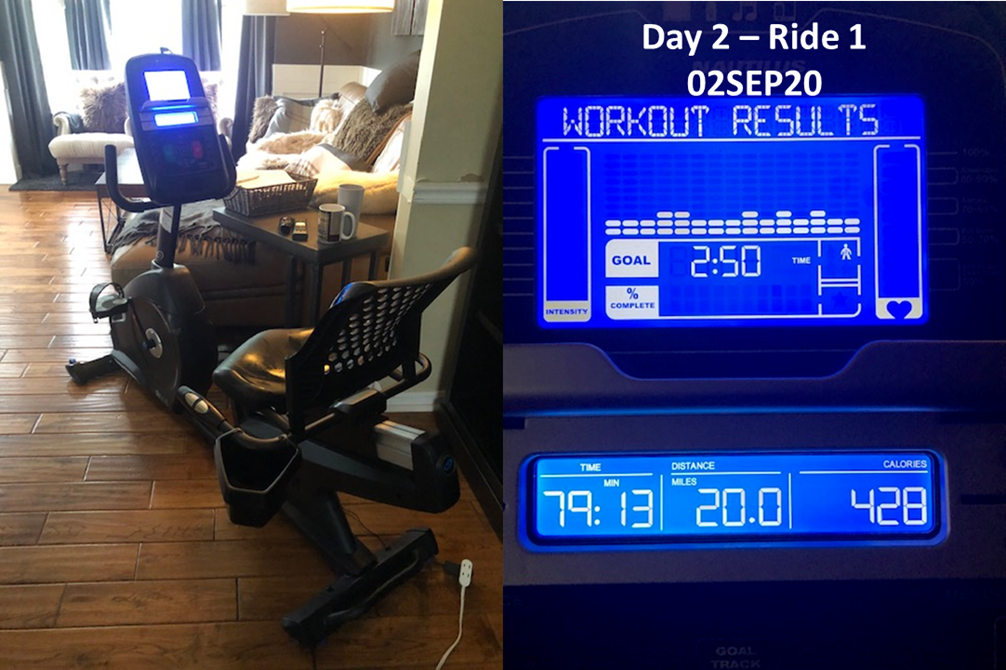 Day 2 - Ride 1