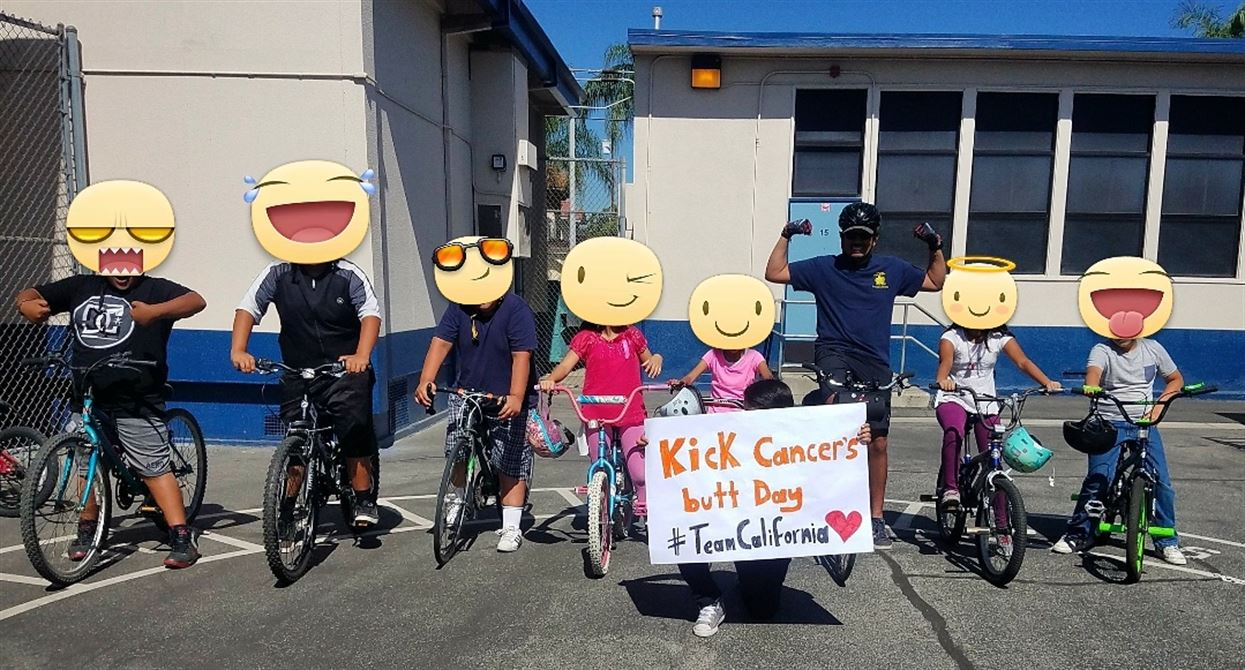 Kick Cancer's Butt Day at Fremont Elementary