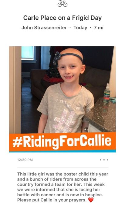 Prayers For Callie