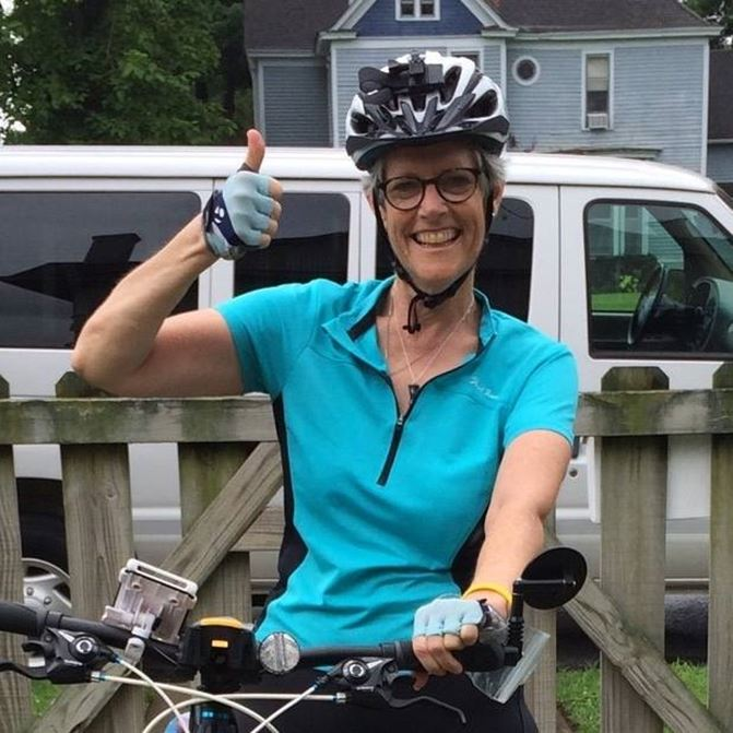 I am off and pedaling to CRUSH cancer and CRUISE to a cure!